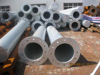 Hot Dipped Galvanized Poles